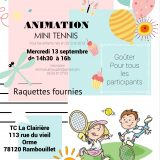 Animation gratuite minitennis 2017