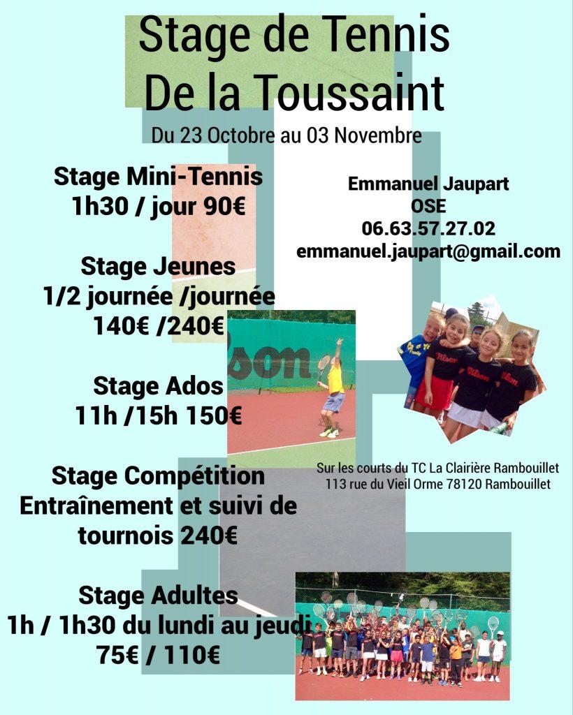stagesToussaint2017